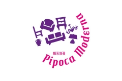 Logo Atelier Pipoca Moderna