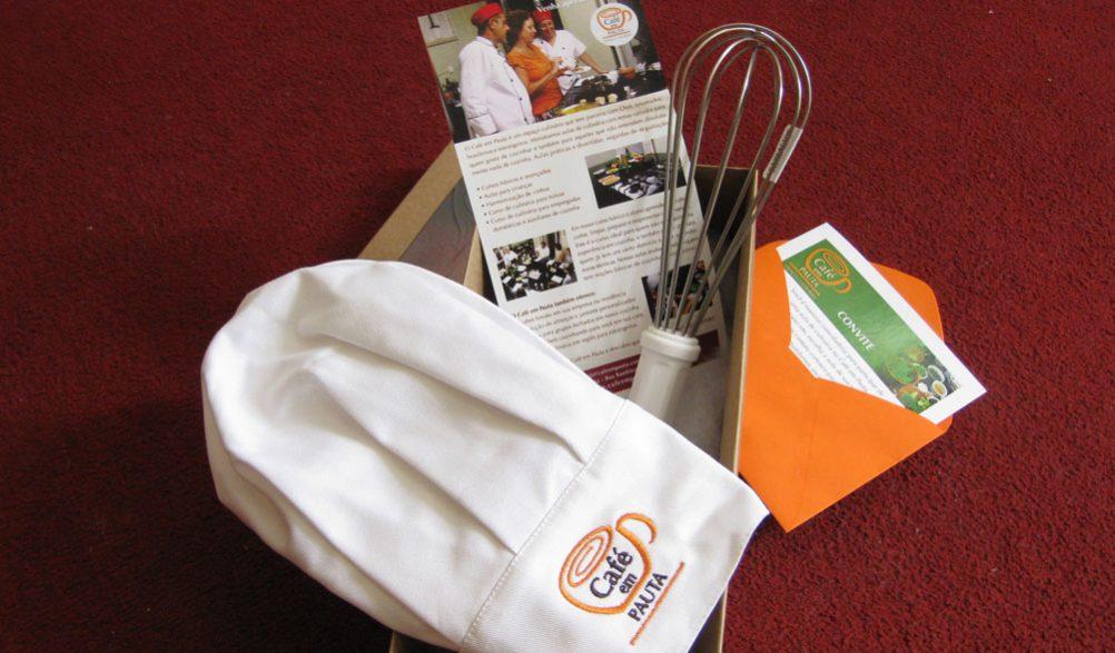 Estratégias de marketing para a escola de culinária Café em Pauta