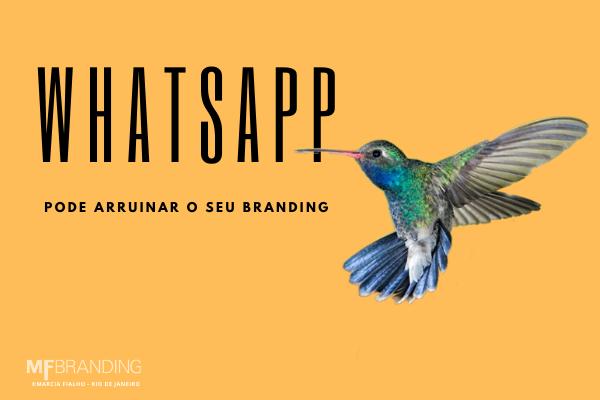 whatsapp e branding