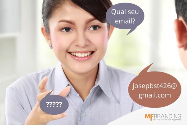 A importância do endereço de e-mail no seu branding